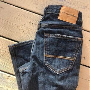 Abercrombie Kids Slim Straight Jeans, New, 14 Slim